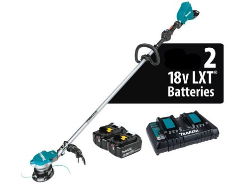 COUPE-HERBES LXT® 36 V (18 V X 2) (5,0 Ah)  ET CHARGEUR DOUBLE - MAKITA